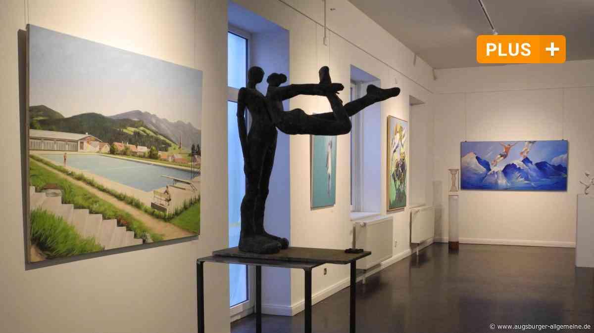 Biennale Blau:Kühne Sprüngeim Blauen Haus in Dießen