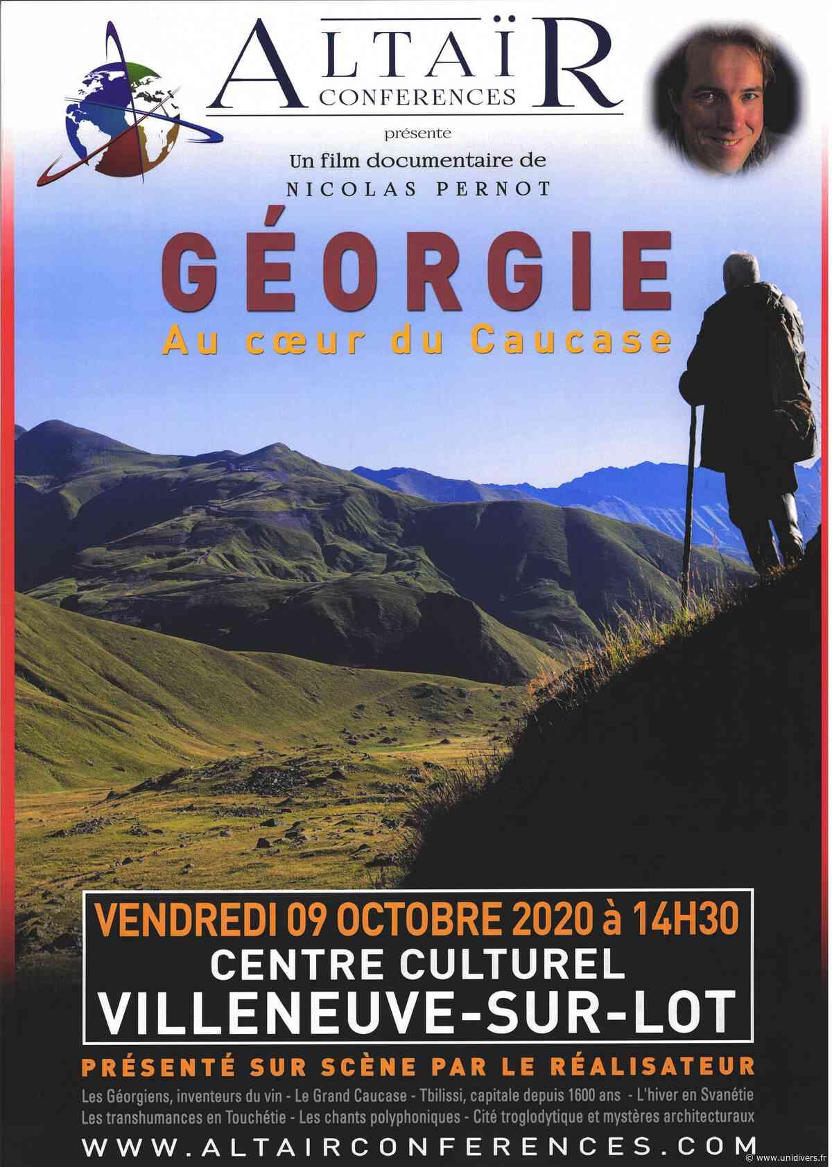 Ciné-conférence – Géorgie Villeneuve-sur-Lot - Unidivers
