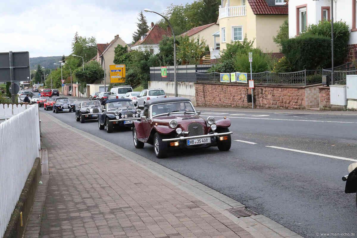 Röhrende Motoren und strahlender Chrom: 20 Panther in Obernburg - Main-Echo