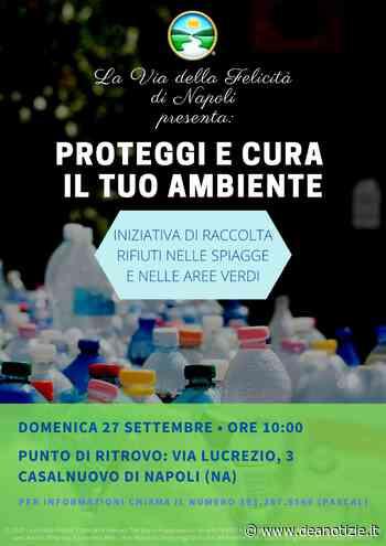 Tornano i volontari de La Via della Felicità a Casalnuovo di Napoli - Dea Notizie