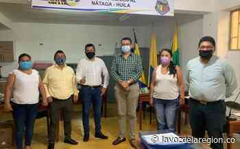 Nuevo personero de Nátaga tomó posesión del cargo - lavozdelaregion.co