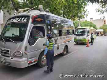 Protocolos de bioseguridad de transporte público en Neiva son verificados - Alerta Tolima