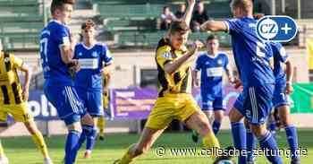 Oberliga: Malte Marquardt rettet Eintracht Celle in Heeslingen Punkt - Cellesche Zeitung