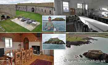 Tech boss transforms Napoleonic fort into party island after buying it for £555,000