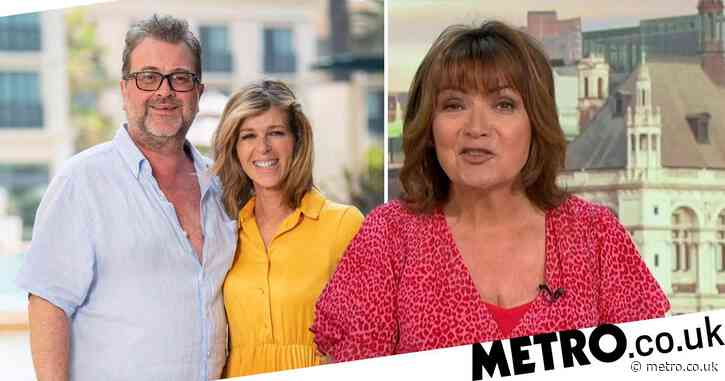 Lorraine Kelly erupts into emotional rant about Kate Garraway's 'hell' as she slams London protests