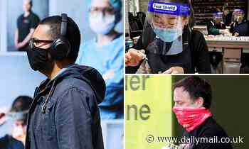 Masks are better than face shields: Experts say  airborne droplets can get around the visors