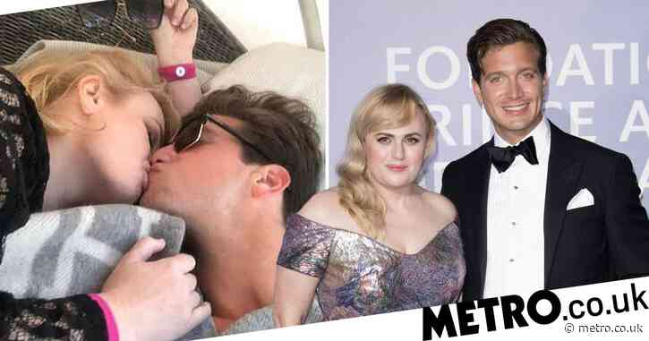 Rebel Wilson and new man Jacob Busch are all kinds of cute as they kiss on yacht trip in Monaco