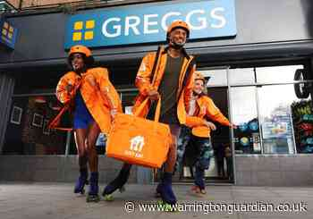 Greggs launch 'roller-skate' delivery service on Just Eat