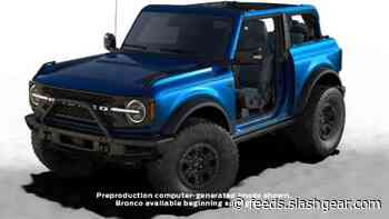 Ford Bronco First Edition buyers have the option of an exclusive color