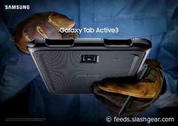 Galaxy Tab Active 3 revealed with tablet feature we thought lost to time