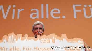 """Bouffier mit Wahl zufrieden: """"Sehr guter Vertrauensbeweis"""" - Süddeutsche Zeitung"""