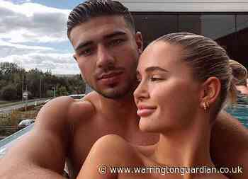 Love Island stars Molly-Mae Hague and Tommy Fury enjoy spa day in Warrington