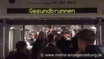 Video zeigt Illegale U-Bahn-Party in Berlin: Dutzende Jugendliche feiern - ein Beteiligter ist stadtbekannt