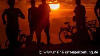 Derzeit schöne Sonnenuntergänge in NRW haben traurigen Hintergrund