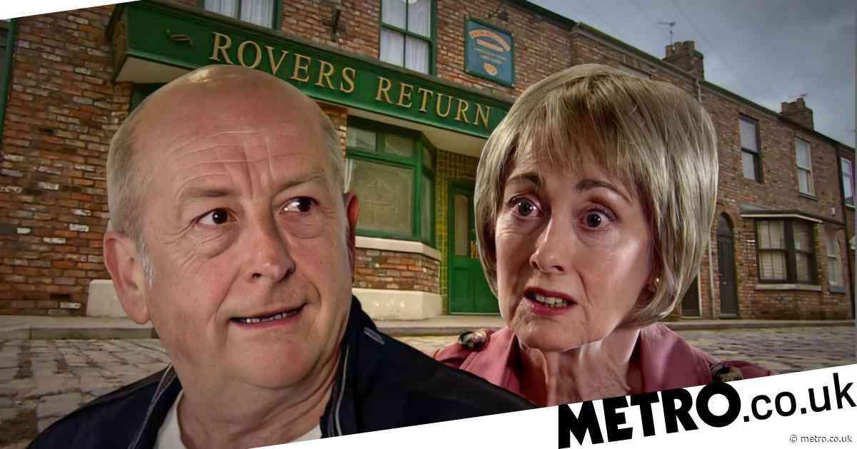 Coronation Street spoilers: Geoff Metcalfe uses Yasmeen Nazir's money to keep Elaine Jones quiet in shock twist?