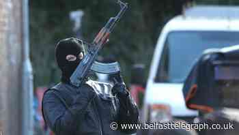 Line of Duty: Gunmen take to the streets of Belfast for series six filming
