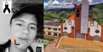 Menor de 16 años fue asesinado en Oporapa - Laboyanos.com