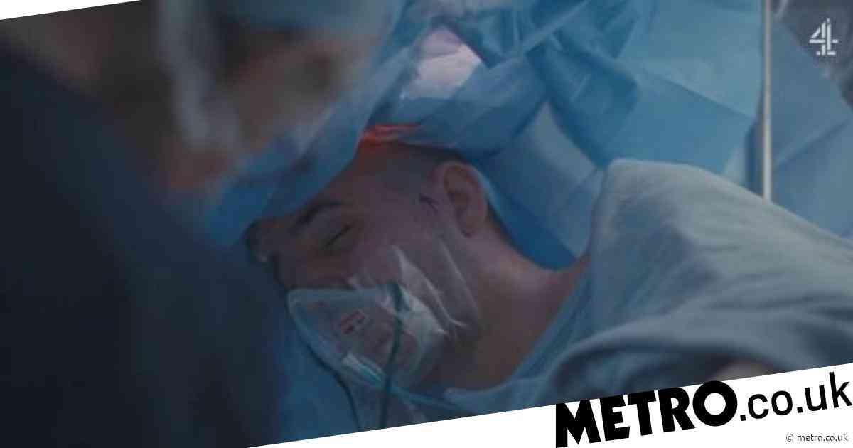 Brain surgery patient kept awake during operation in scenes that will leave you feeling squirmish