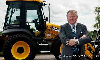 JCB Billionaire slammed by neighbours for visiting planning site by HELICOPTER