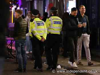 MPs criticise 'shambolic' 10pm curfew for pubs - The Independent