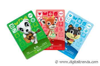 Animal Crossing Amiibo cards and special-edition Switch are coming back