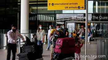 Coronavirus: Business groups pile pressure on Shapps over airport testing - Sky News