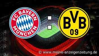 FC Bayern - Borussia Dortmund im Live-Ticker: Holen sich die Bayern den fünften Titel? Supercup ohne Zuschauer