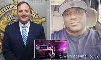 Texas sheriff is charged with evidence tampering in death of black father-of-two