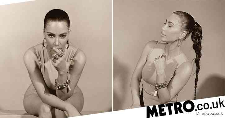 Kim Kardashian strips things back as she's photographed by Kanye West for isolation shoot with Michèle Lamy
