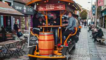 Belfast beer bike owners slam Stormont for confusion on rules