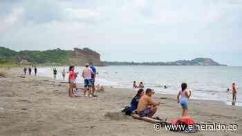 Reapertura de las playas en Tubará estuvo acompañada de fuertes lluvias - EL HERALDO