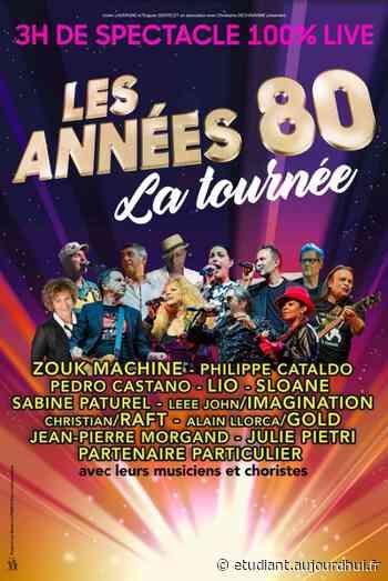 LES ANNEES 80 A LIEVIN - LA TOURNEE - ARENA STADE COUVERT, Lievin, 62800 - Sortir à France - Le Parisien Etudiant