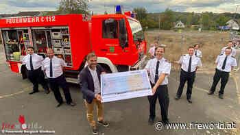 D: Spende an Feuerwehr Bergisch-Gladbach ermöglicht Spezialausrüstung für Waldbrände - Fireworld.at