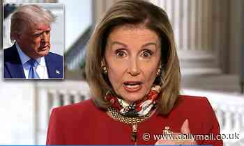 Nancy Pelosi calls revelations Donald Trump has $300 million in loans 'national security issue'