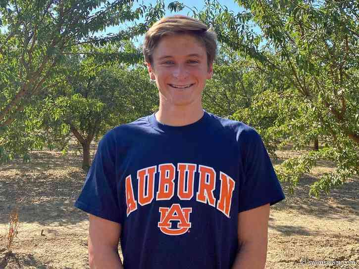 Futures 200 Fly Champion Tate Cutler Verbally Commits to Auburn for 2022-23