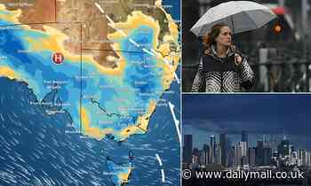Huge thunderstorms and torrential rain to batter parts of Australia before mini heatwave