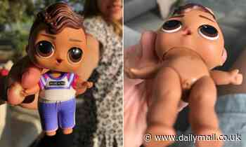 Popular children's L.O.L dolls sold at Kmart are under scrutiny again