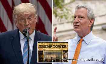 De Blasio announces investigation into whether Trump paid city taxes or 'cheated New York City'