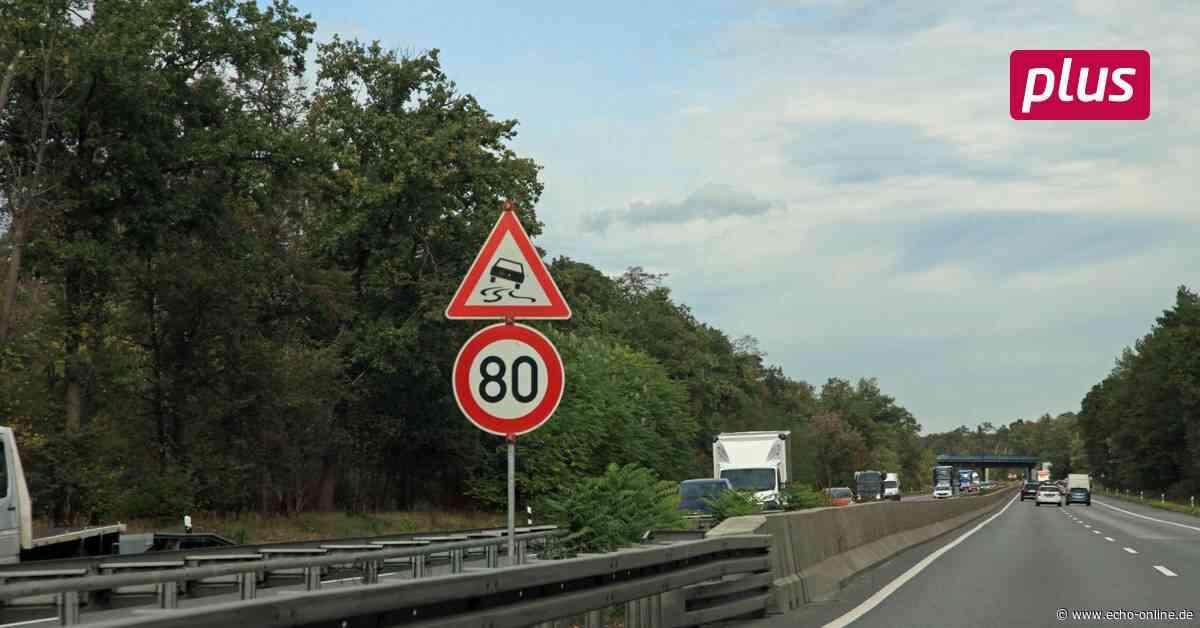 Pfungstadt: Gefahrenstelle auf der A 67 - Echo Online