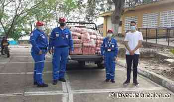 Adultos mayores vulnerables de Yaguará recibieron ayudas alimentarias - Noticias