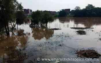 Tenosique y Balancán en alerta por nivel del río San Pedro - El Heraldo de Tabasco