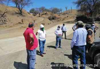 Sullana: pueblos rurales de Marcavelica se benefician con camino vecinal - El Regional