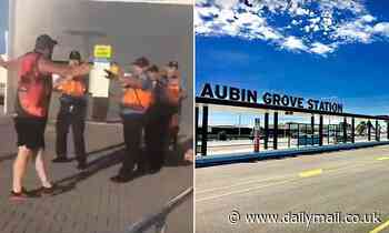 Train guards are slammed for repeatedly pepper-spraying a family in Perth