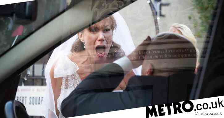 EastEnders spoilers: Stuart Highway and Rainie Branning's wedding day destroyed by a hearse?