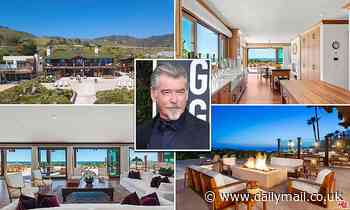 Pierce Brosnan puts Malibu home on the market for $100 million after the couple moved to Hawaii