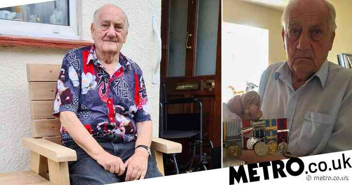 War hero, 87, left 'scared to answer the door' after his pension was stolen