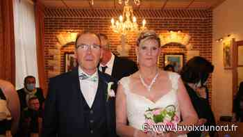Jean-Paul et Marie-Hélène se sont mariés à Auchy-les-Mines - La Voix du Nord