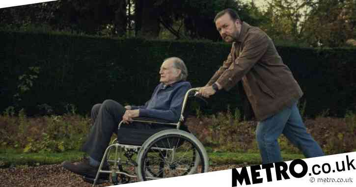 Ricky Gervais confirms he's finished After Life season 3 as he shares sneak peek at script
