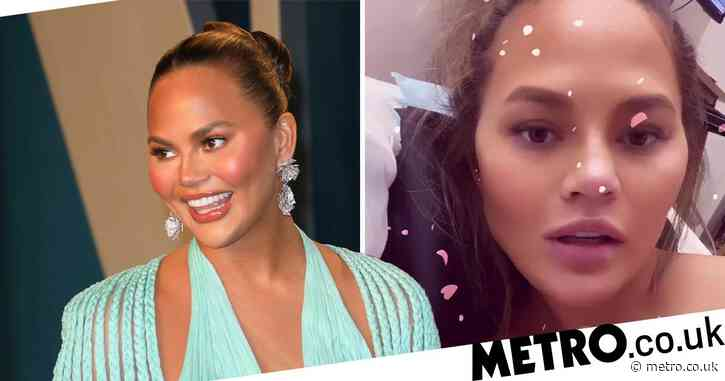 Chrissy Teigen has blood transfusion in hospital after 'constant' pregnancy bleeding