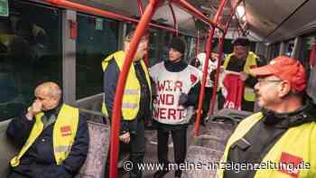 Bundesweiter Warnstreik sorgt für Stillstand: Fahren in Bielefeld noch Busse und Stadtbahnen?
